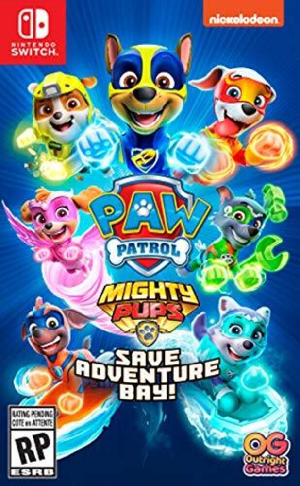 Swi Paw Patrol Mighty Pups Save Adventure Bay - Swi Paw Patrol Mighty Pups Save Adventure Bay