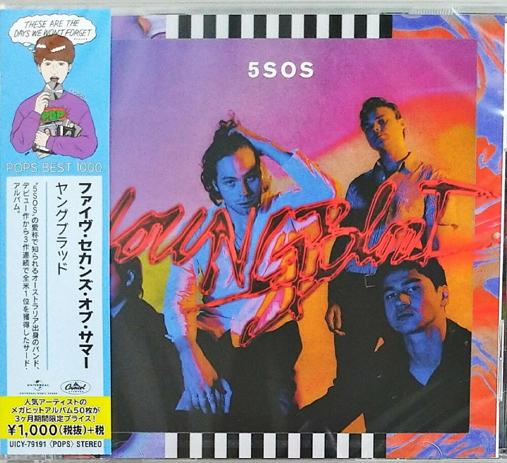 5 Seconds Of Summer - Youngblood (Bonus Tracks) (Ltd) (Reis) (Jpn)
