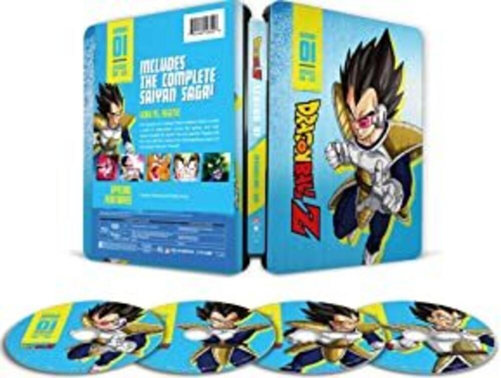 Dragon Ball Z - 4:3 - Season 1 - Dragon Ball Z - 4:3 - Season 1 (4pc) / (Box Stbk)