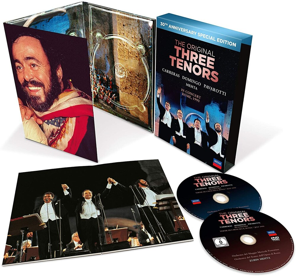 The Three Tenors - Three Tenors - 30th Anniversary Version [CD/DVD]