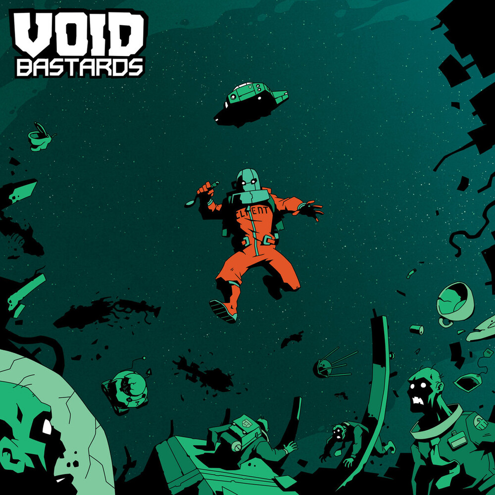 Ryan Roth Blk Grn - Void Bastards (Original Soundtrack) (Green with Black Splatter)