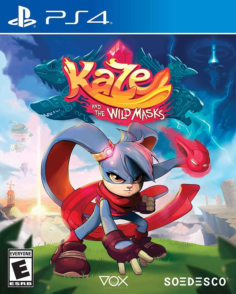 Ps4 Kaze and the Wild Masks - Ps4 Kaze And The Wild Masks