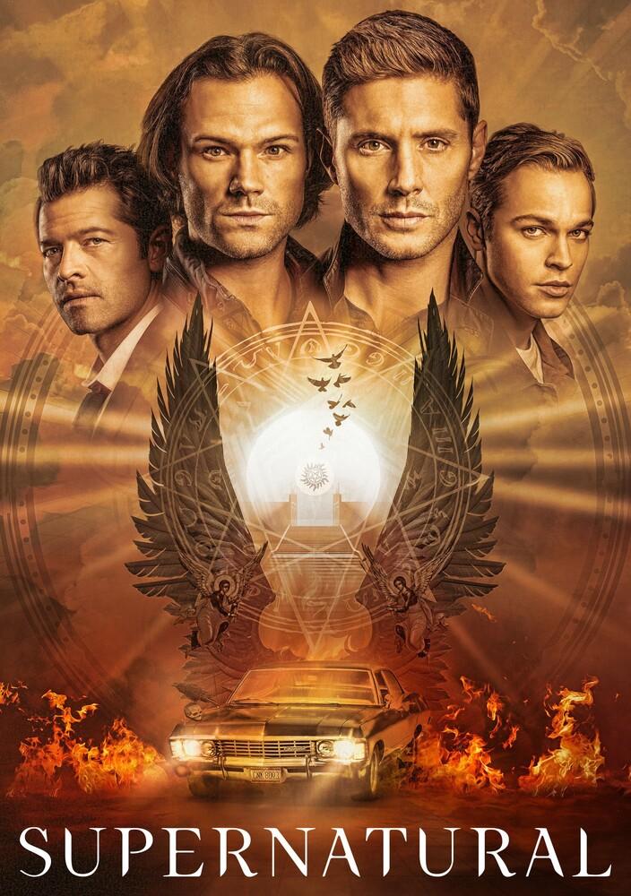 Supernatural: 15th Season - Supernatural: 15th Season (4pc) / (Box Digc Slip)
