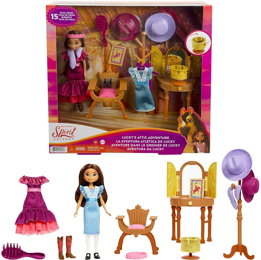 Spirit - Mattel - Spirit Lucky's Attic Playset