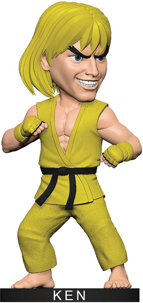 Icon Heroes - Icon Heroes - Street Fighter Ken Yellow Gi Polystone Bobblehead