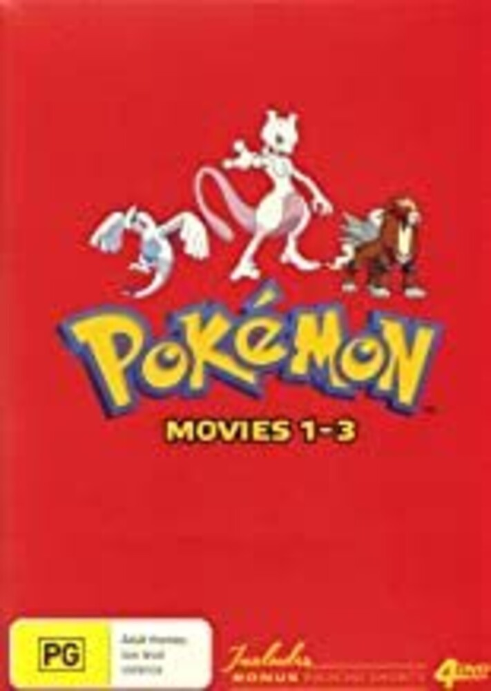 Pokemon Movie 1-3: Collector's Edition - Pokemon Movie 1-3: Collector's Edition [PAL/0]
