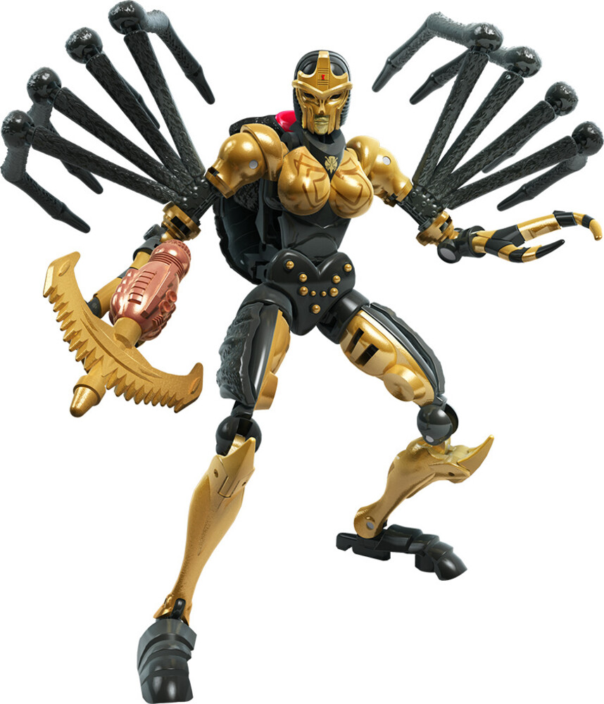 - Hasbro Collectibles - Transformers Generations War For Cybertron KDeluxe Black Arachnia