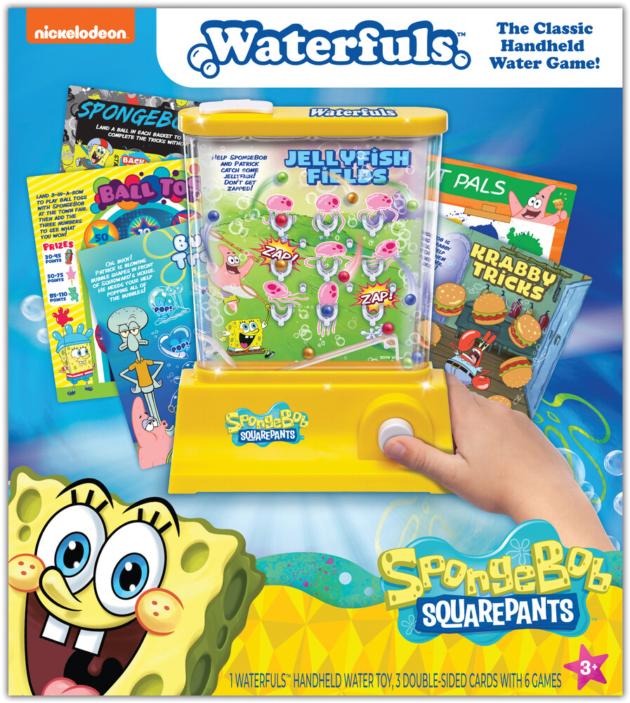 Spongebob Squarepants Waterfuls Water Game - Nickelodeon Spongebob SquarePants Waterfuls The Classic Hand Held Water Game!