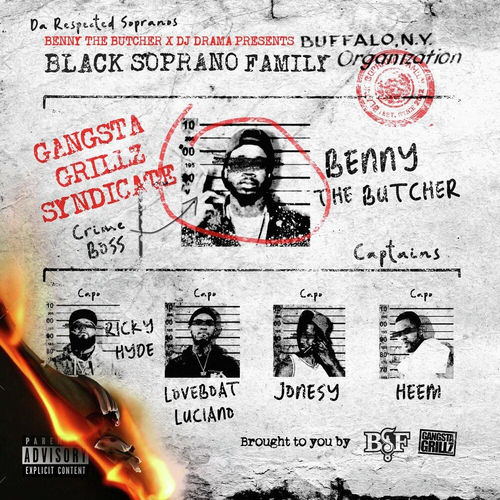 Black Soprano Family / Benny The Butcher - Benny The Butcher & Dj Drama Present: Respected