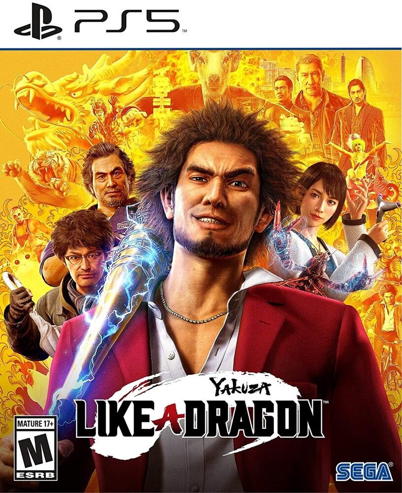 Ps5 Yakuza: Like a Dragon - Yakuza: Like a Dragon for PlayStation 5