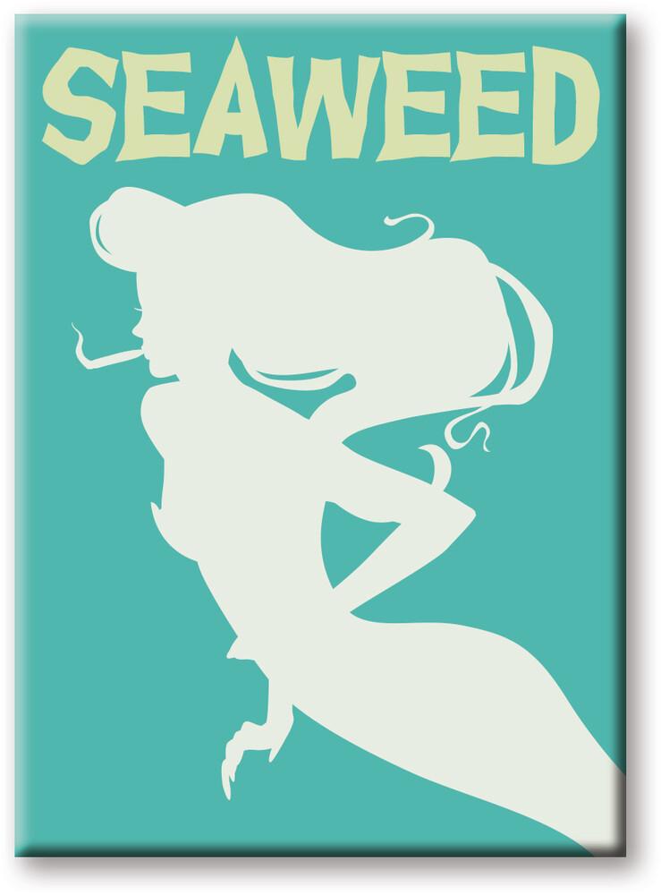 Weed Seaweed 2.5 X 3.5 Flat Magnet - Weed Seaweed 2.5 x 3.5 Flat Magnet
