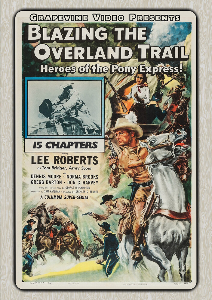 Blazing the Overland Trail (1956) - Blazing The Overland Trail (1956) (2pc) / (Mod)