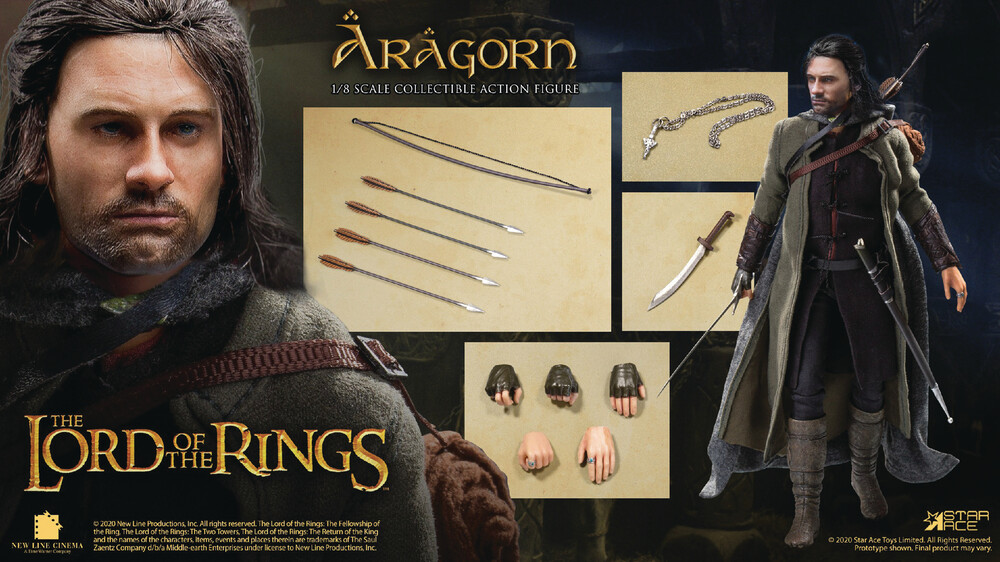 Star Ace Toys - Star Ace Toys - Lord Of The Rings Aragorn 2.0 1/8 Coll Action FigureSpecial Version (Net)