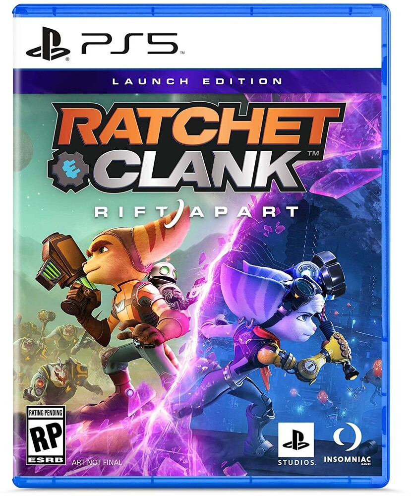 Ps5 Ratchet & Clank: Rift Apart - Ratchet & Clank: Rift Apart Launch Edition for PlayStation 5