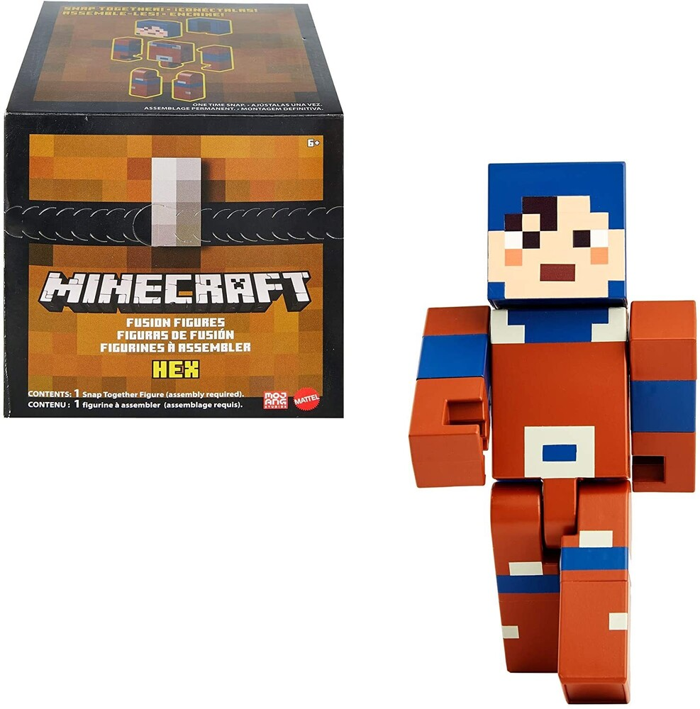 - Mattel Collectible - Minecraft Hex
