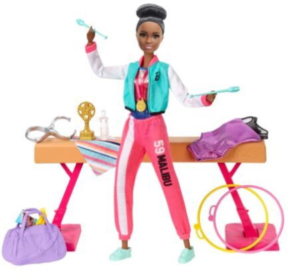 Barbie - Mattel - Barbie Gymnastics Playset