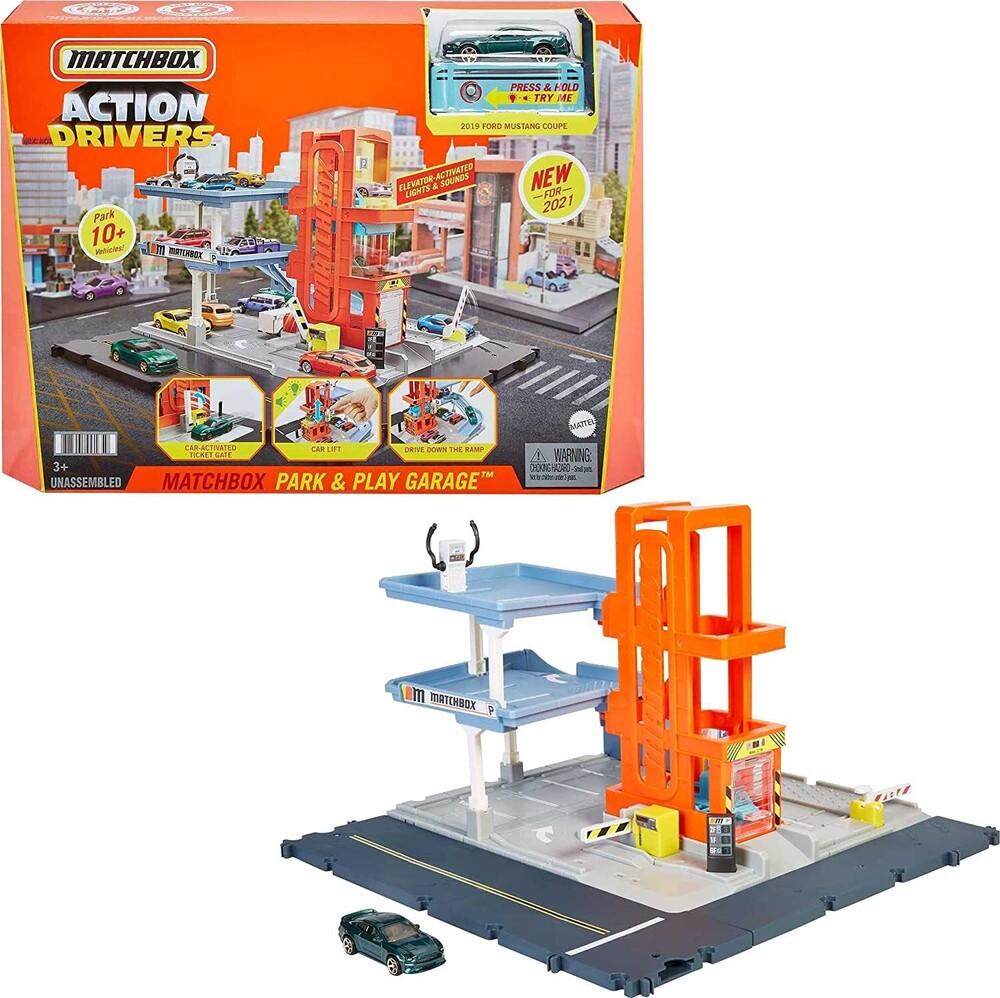 Matchbox - Mattel - Matchbox Action Drivers Garage Playset