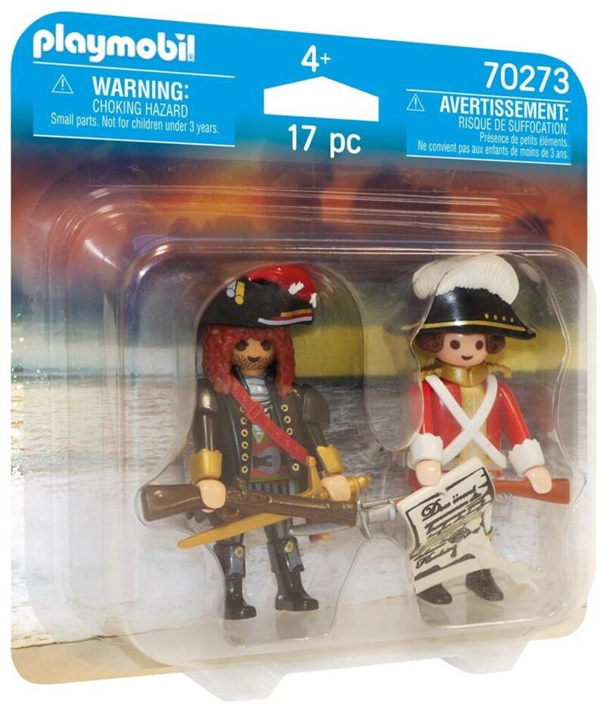 - Duo Pack Pirate And Redcoat (Fig)