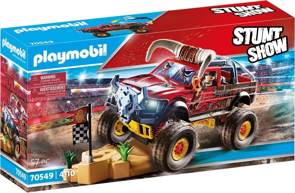 - Stunt Show Bull Monster Truck (Fig)