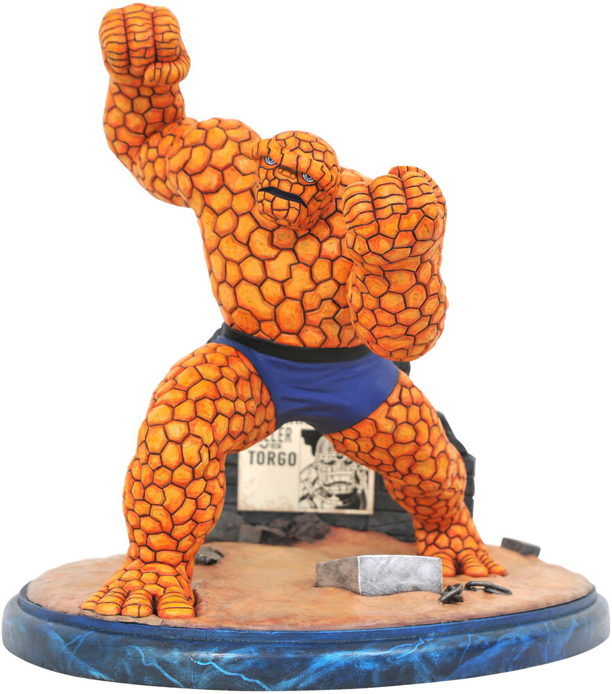 - Marvel Premier Collection Comic Thing Statue