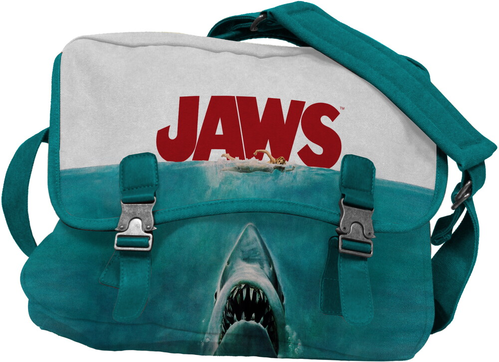 - Jaws Movie Poster Canvas Mailbag (Mult) (Tote)