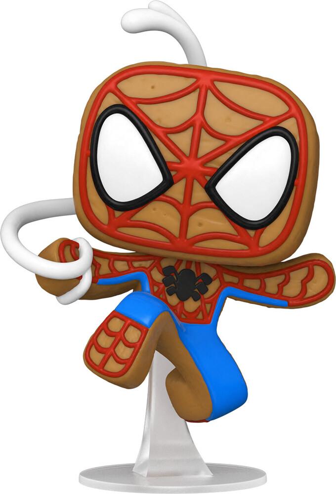 Funko Pop! Marvel: - Holiday- Spider-Man (Vfig)