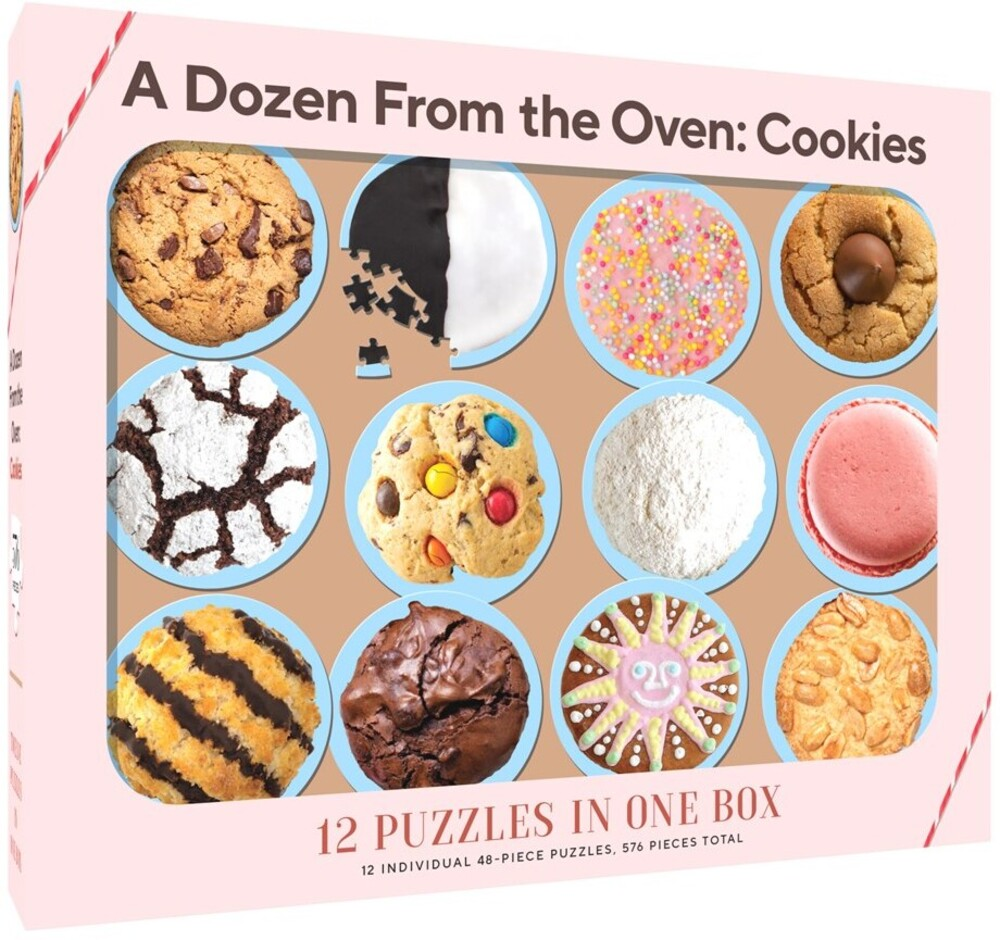- Dozen From The Oven Cookies (Puzz)