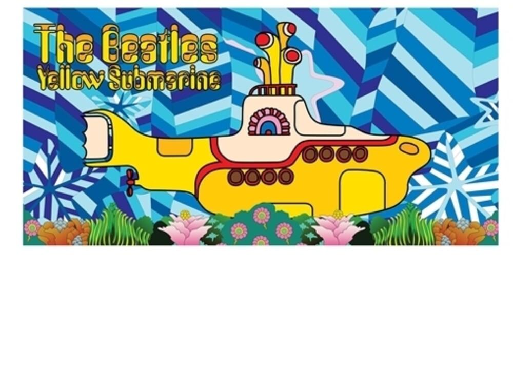 Beatles - Yellow Submarine Beach / Bath Towel - Beatles - Yellow Submarine Beach / Bath Towel