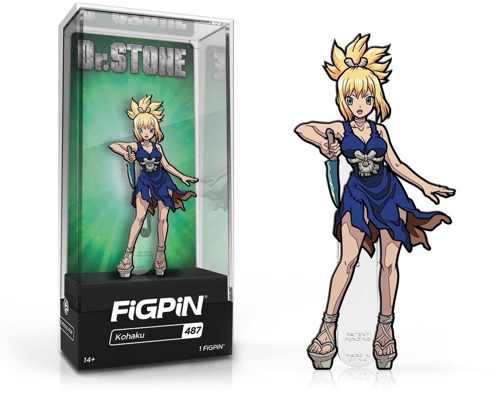 Figpin Dr. Stone Kohaku #487 - Figpin Dr. Stone Kohaku #487 (Clcb) (Pin)