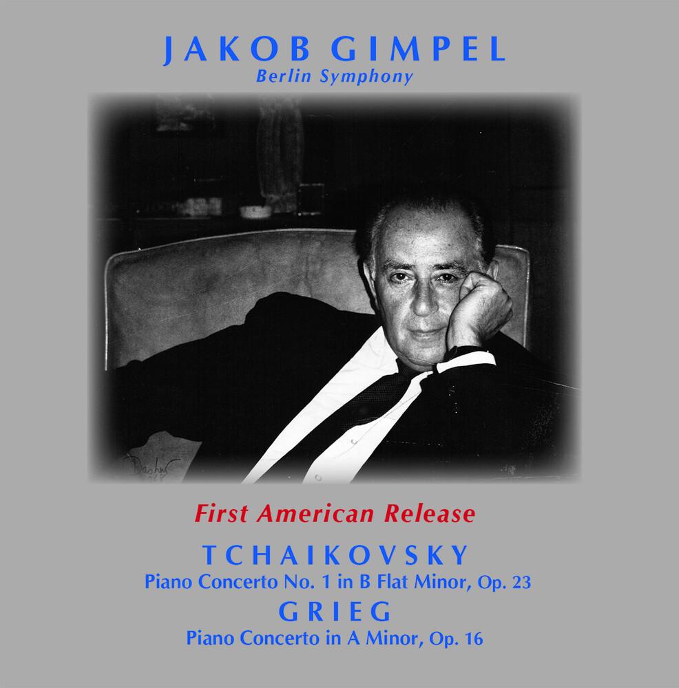 Grieg / Gimpel / Berlin Symphony - Piano Concerto 1