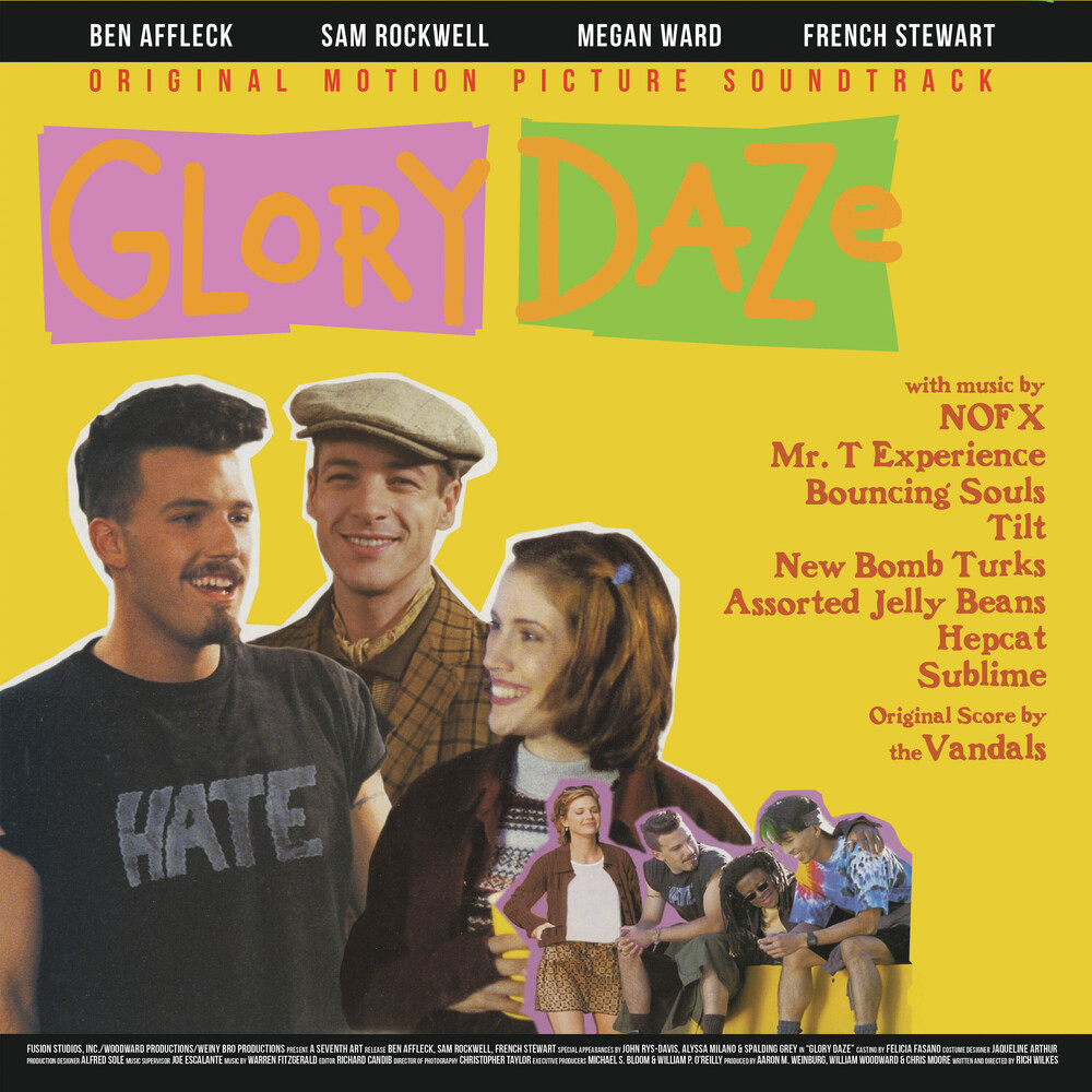 Glory Daze / O.S.T. (Colv) (Ltd) (Pnk) - Glory Daze / O.S.T. (Pink Vinyl) [Colored Vinyl] [Limited Edition]