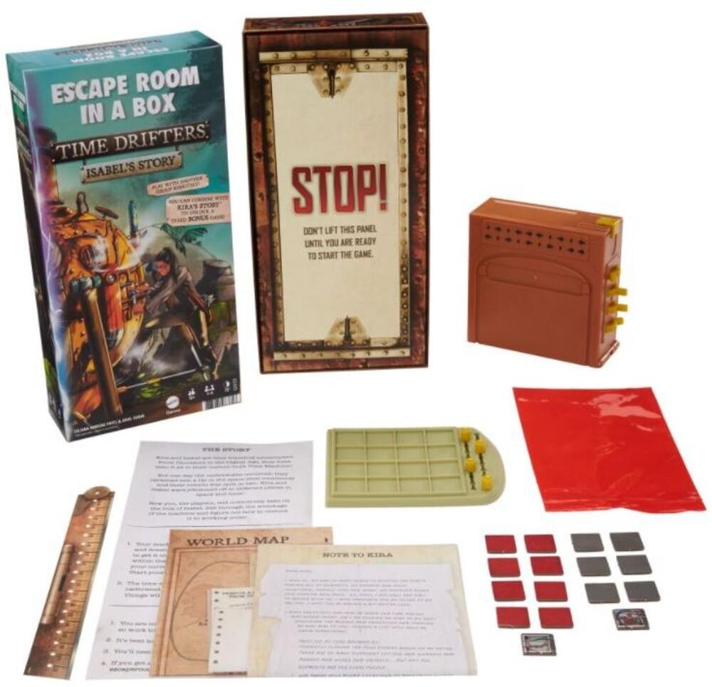 Games - Escape Room Time Traveler Game A (Ttop)