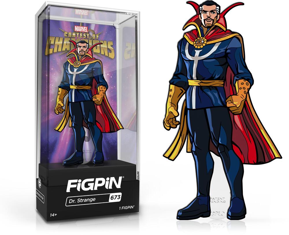 Figpin Marvel Contest of Champions Dr Strange #673 - FiGPiN Marvel Contest Of Champions Dr. Strange #673