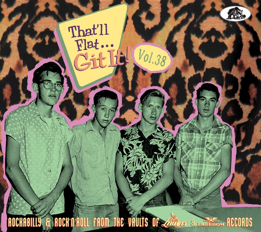 That'll Flat Git It! Vol. 38: Rockabilly / Various - That'll Flat Git It! Vol. 38: Rockabilly / Various
