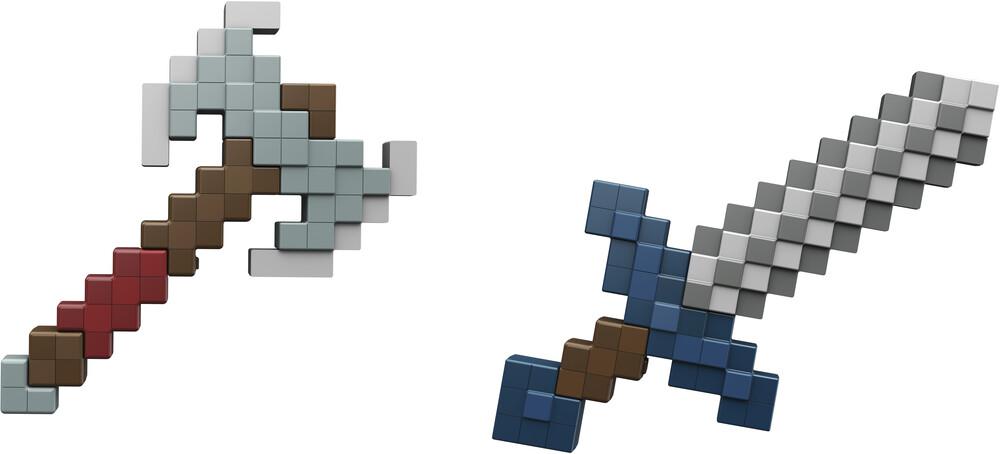 - Mattel Collectible - Minecraft Deluxe Foam Roleplay Assortment