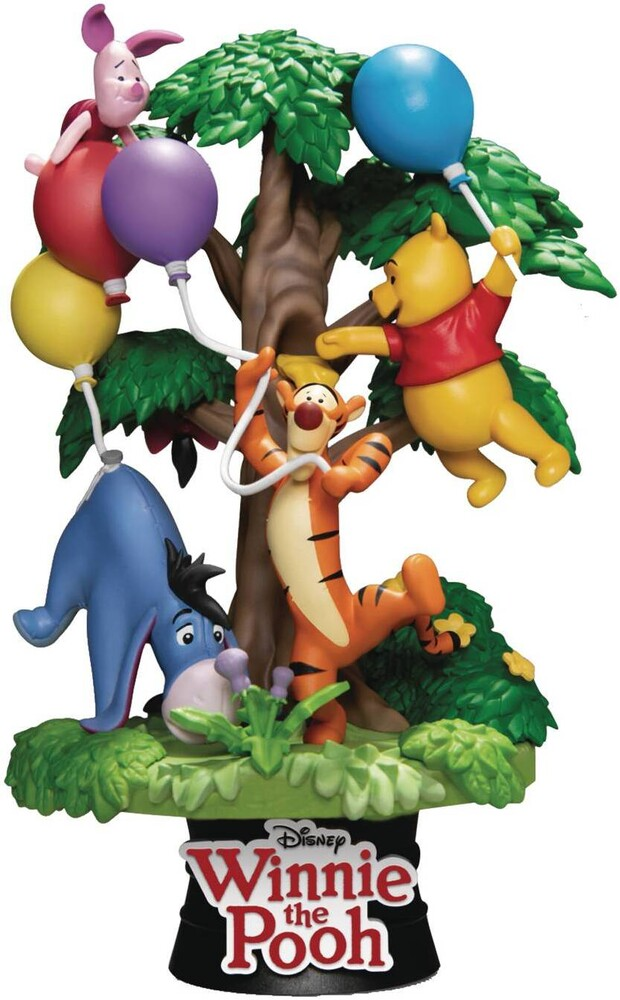 Beast Kingdom - Beast Kingdom - Disney DS-053 Winnie The Pooh W/Friends D-Stage 6 InchStatue