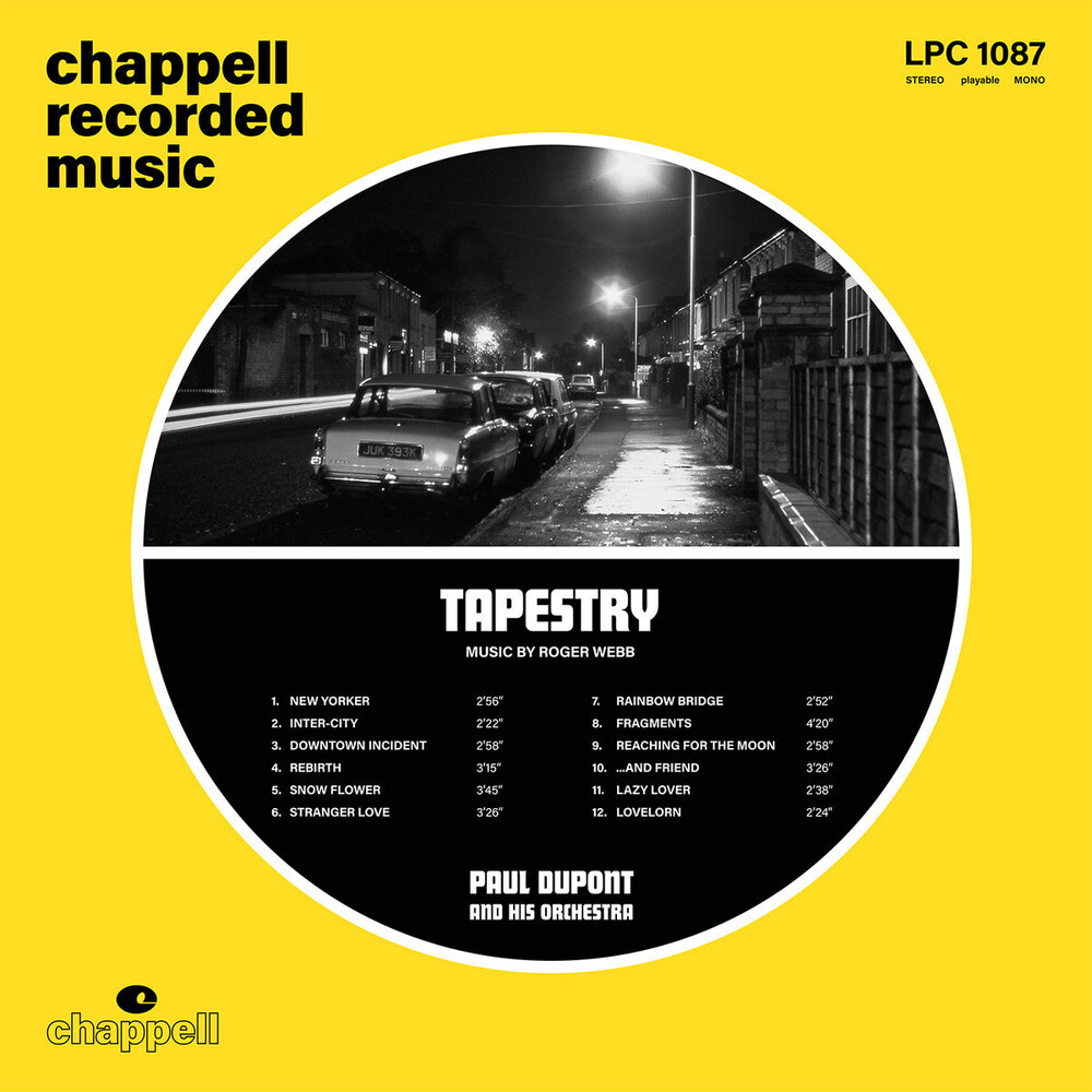 Paul Dupont & His Orchestra - Tapestry [Limited Edition]