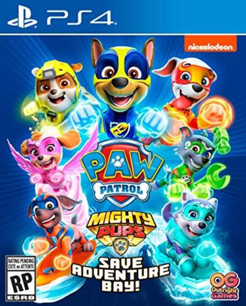 Ps4 Paw Patrol Mighty Pups Save Adventure Bay - Ps4 Paw Patrol Mighty Pups Save Adventure Bay