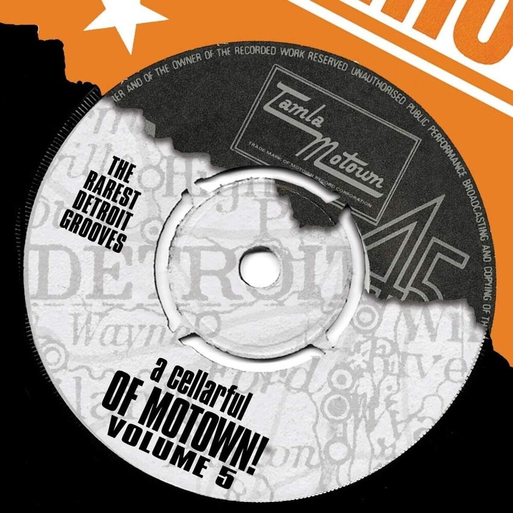 Cellarful Of Motown Vol 5 / Various - Cellarful Of Motown Vol 5 / Various (Uk)