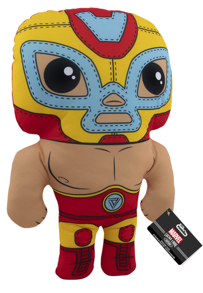 Funko Pop! Plush: - FUNKO POP! PLUSH: Marvel Luchadores- Iron Man 17.5