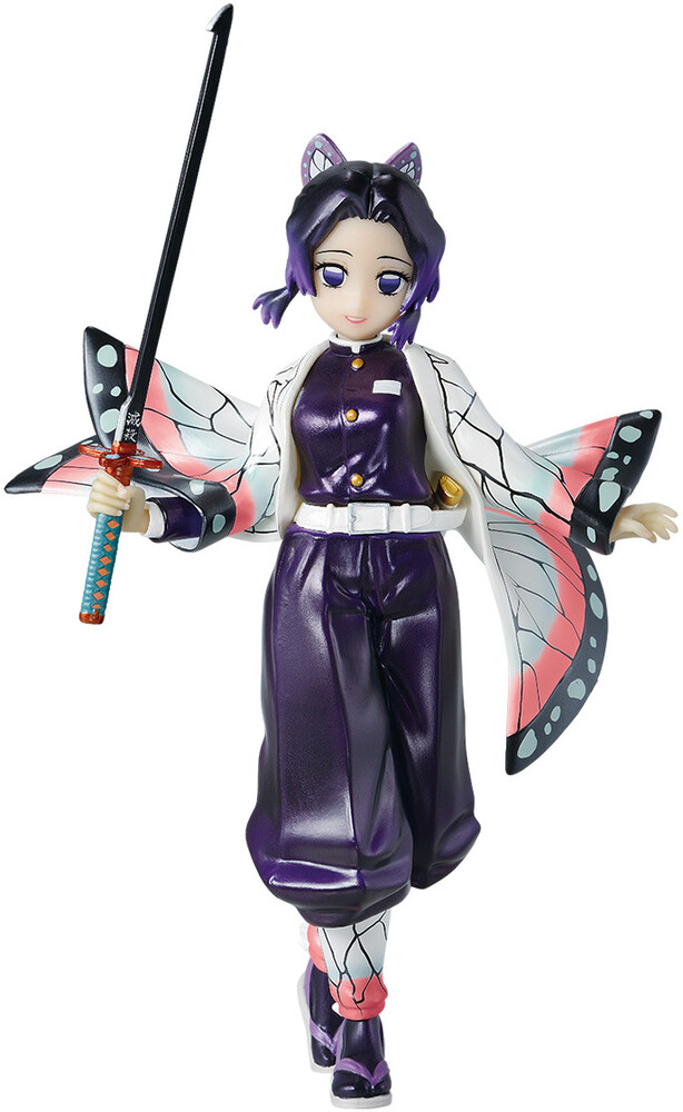 Tamashi Nations - Tamashi Nations - Demon Slayer - Shinobu Kocho -Pearl White Color,Bandai Ichibansho Figure