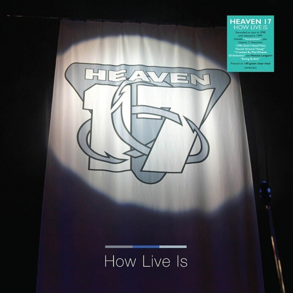 Heaven 17 - How Live Is [Clear Vinyl] (Ofgv) (Uk)