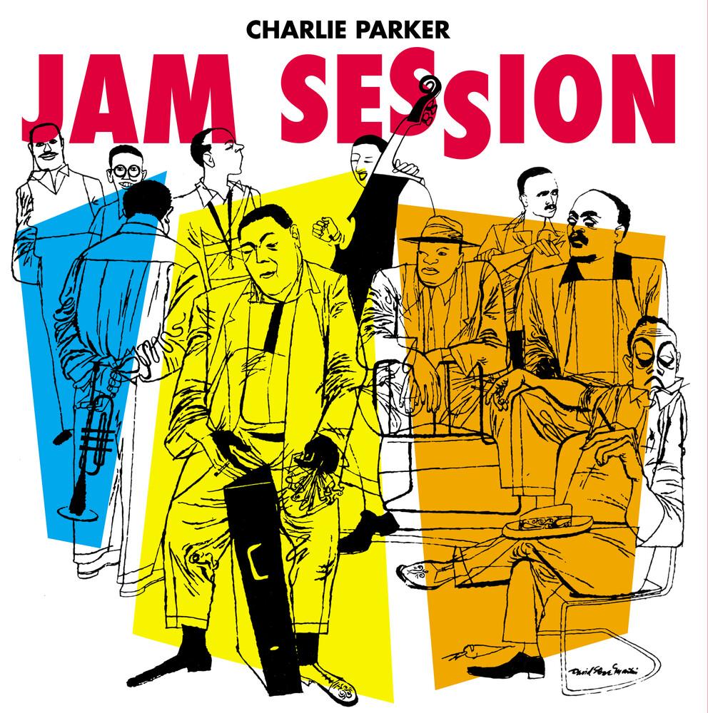 Charlie Parker - Jam Session [180-Gram Blue Colored Vinyl]