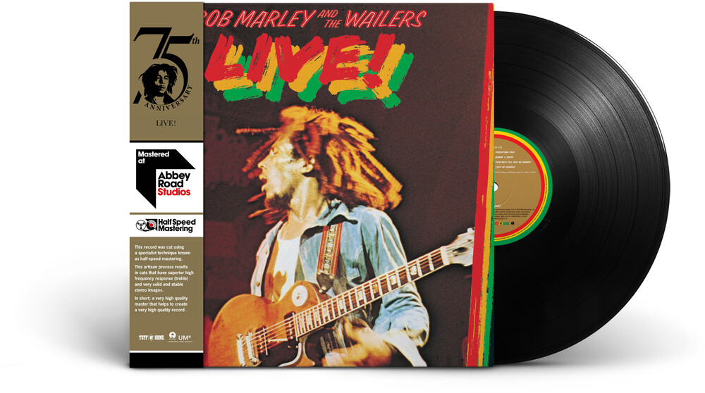 Bob Marley & The Wailers - Live!: Half-Speed Mastering [LP]