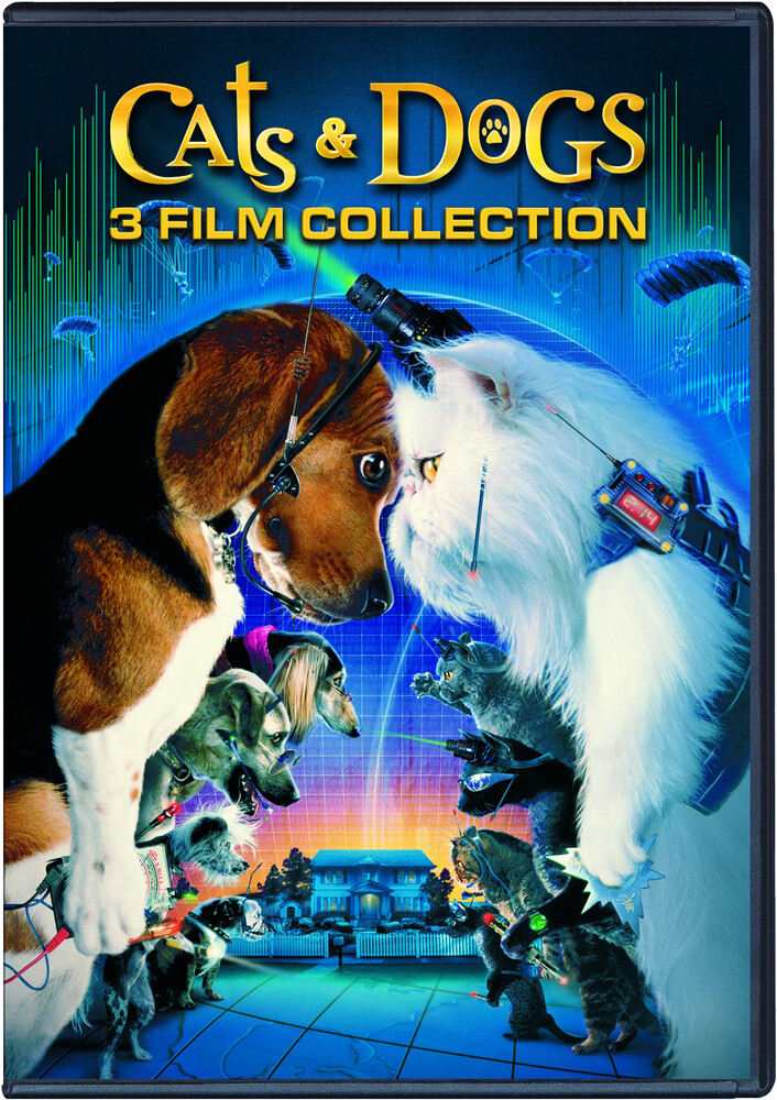 - Cats And Dogs 3-Film Collection