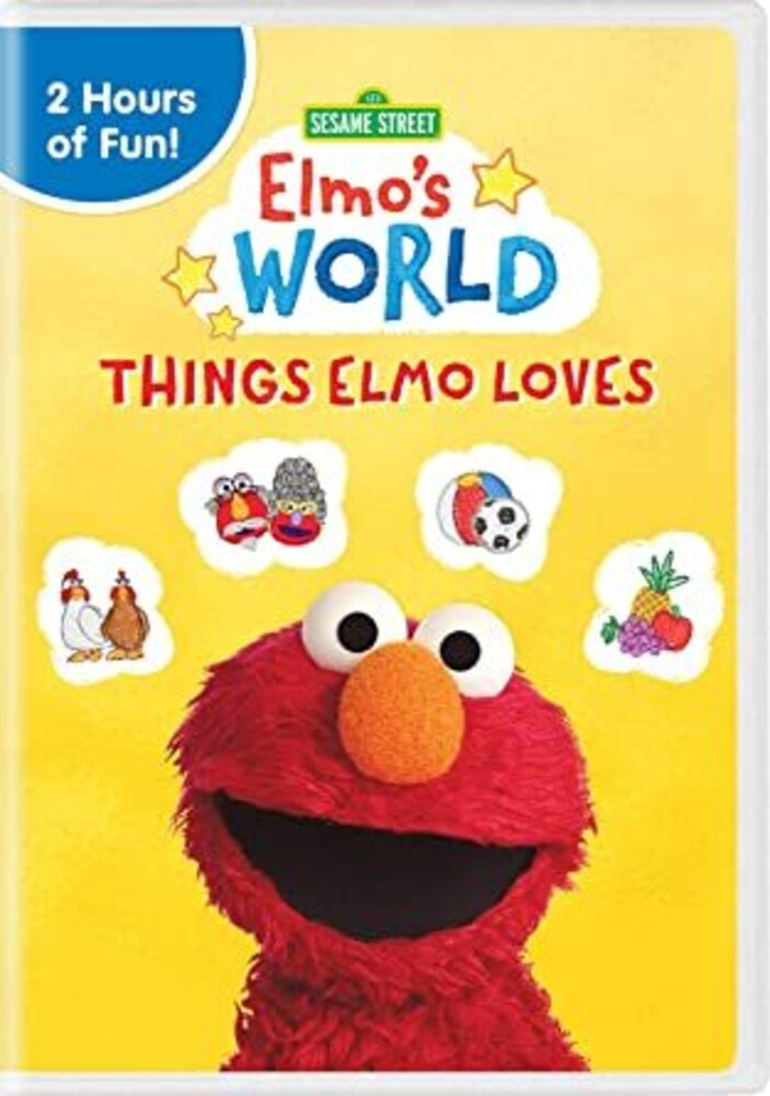 Sesame Street: Elmo's World: Things Elmo Loves - Sesame Street: Elmo's World: Things Elmo Loves