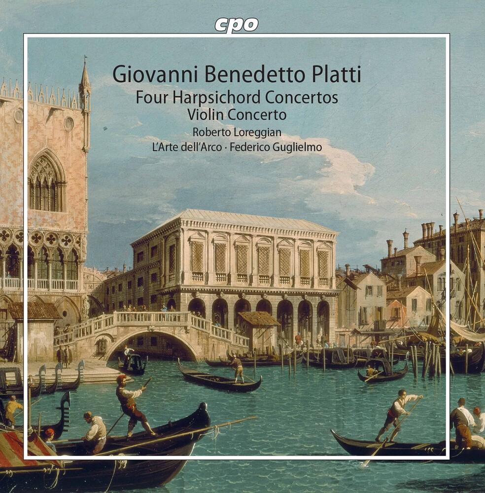 Roberto Loreggian - Four Harpsichord Concertos