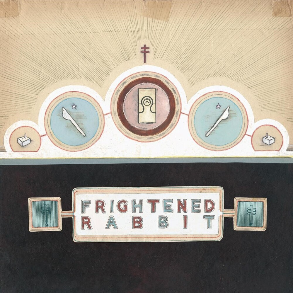 Frightened Rabbit - The Winter of Mixed Drinks (Limited 10 Year Anniversary Edition) (Ice  Blue Vinyl)