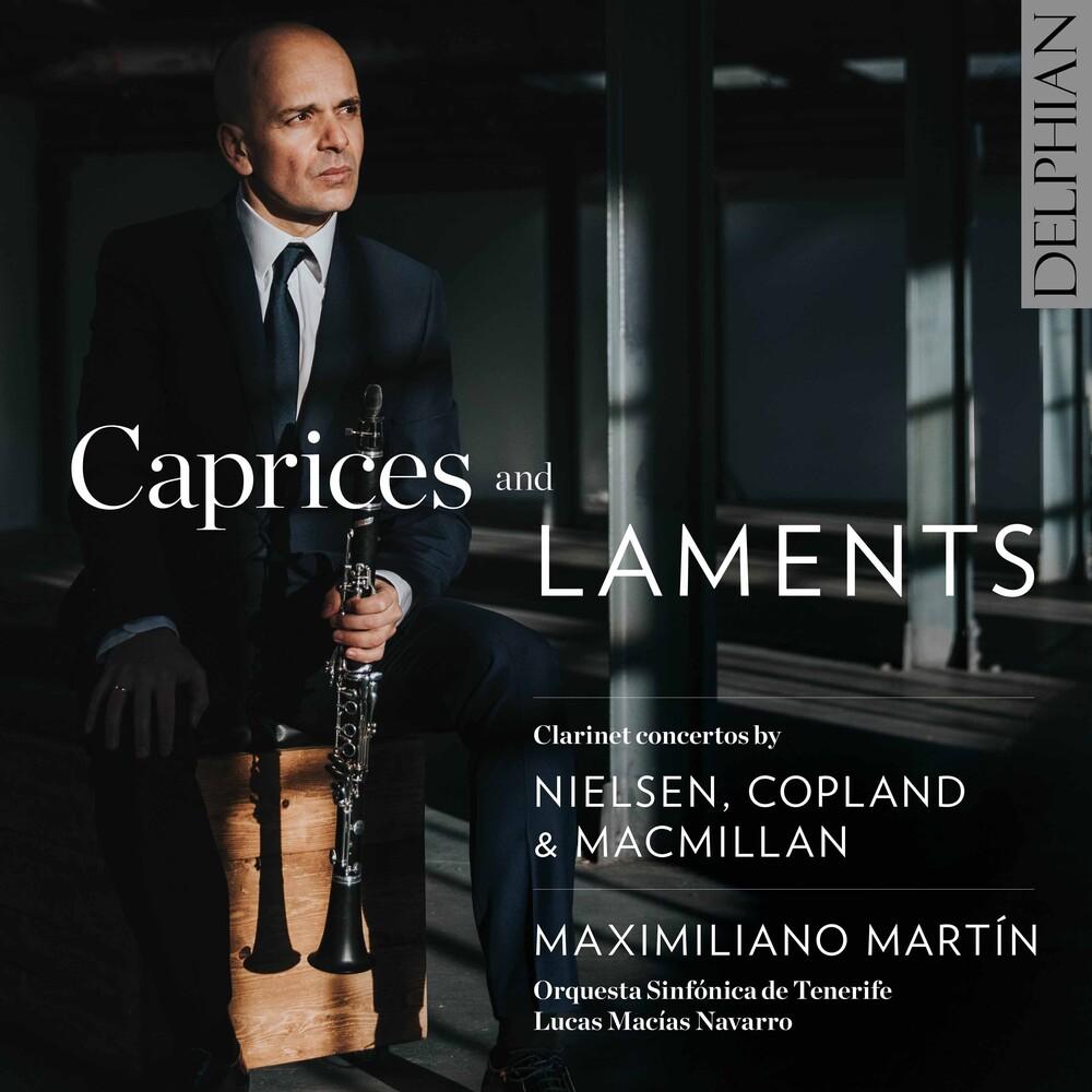Copland / Martin / Navarro - Caprices & Laments