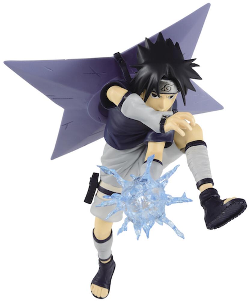 Banpresto - BanPresto - Naruto Vibration Stars Uchida Sasuke Figure